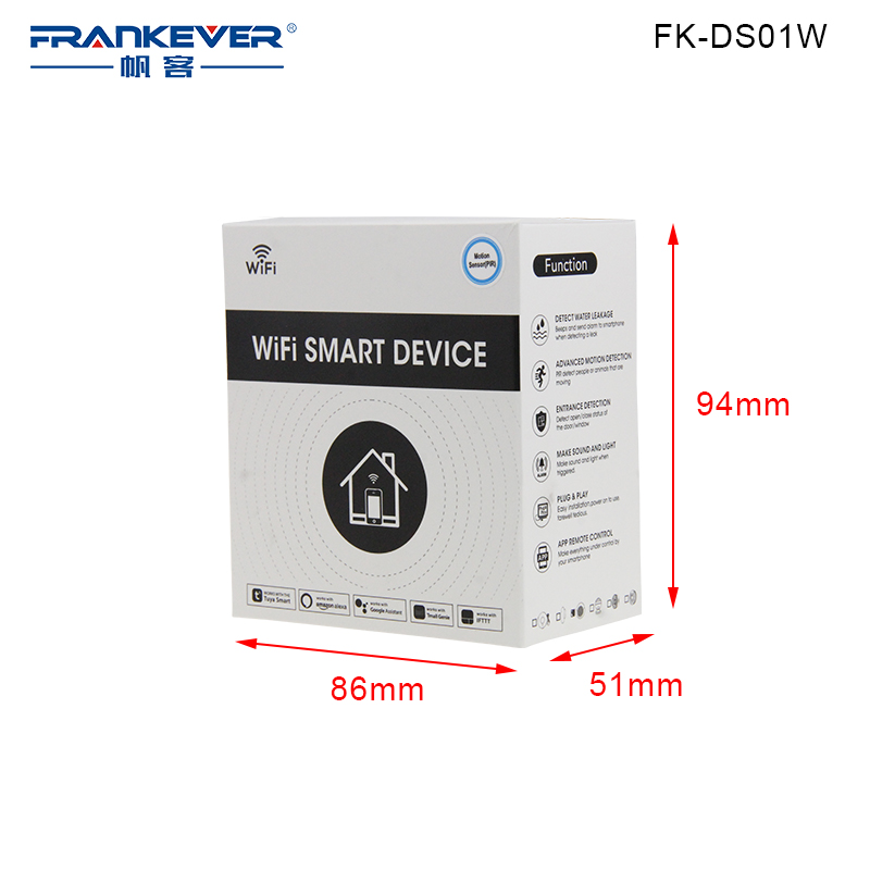 FRANKEVER APP Remote Control Electrical Smart Socket EU Wifi Plug with Long Wifi Distance