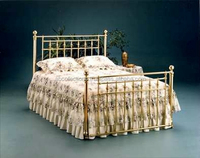 METAL BRASS BED