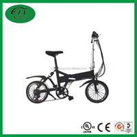 New design 16 inch children small hidden lithium battery electric start pocket bike