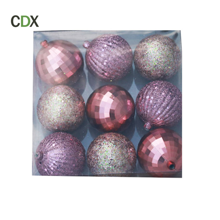 Customized christmas decoration 2017 ball ornaments clear plastic giant christmas ball for sale