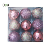 Customized Christmas Decoration 2017 Ball Ornaments