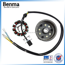 CG125D-12 CLASS 250W motorcycle magnetor dynamo rotor and stator assy