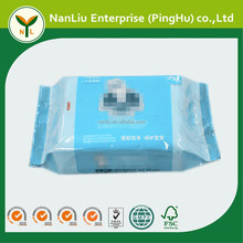 OEM Private label sterile baby hand and mouth finger teeth cleaning wet tissue wipes 25P