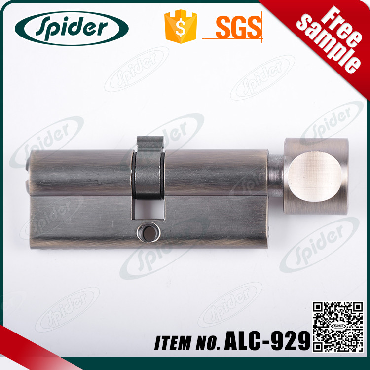 High Security solid brass key Euro profile lock cylinder,cylinder lock