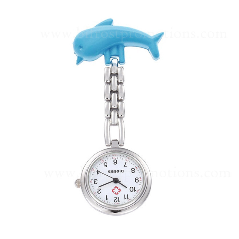 Dolphin Cheap Promotions Brooch Pocket Nurse Watch