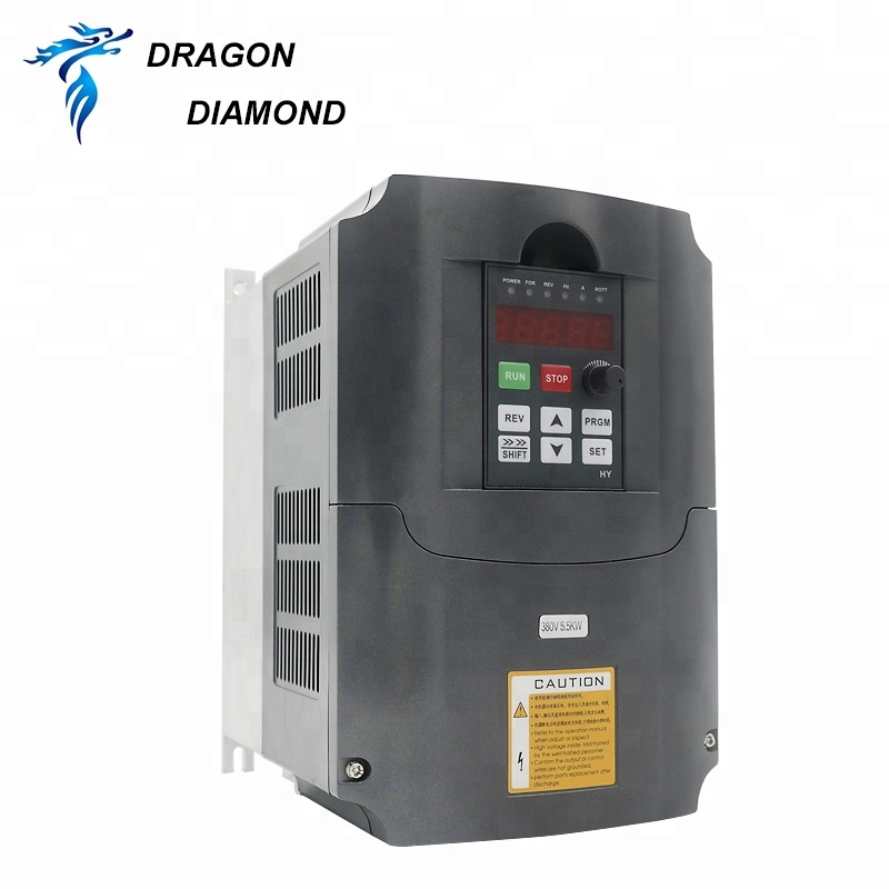 5.5kw Single Phase To 3 Phase Inverter 220v To 380v Variable Frequency Drive Converter