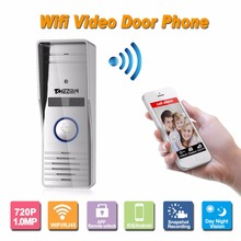 Smart Camera Support Monitoring Unlocking Talking Security Doorbell IP Video Door Phone