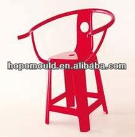 2013 China Mold factory price high quality plastic chair mould crystal clear plastic rest chair