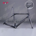 2017 Hot sale carbon frame road bicycle gravel bike frameset Thru Axle disc gravel carbon frame FM218