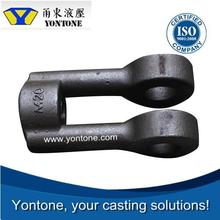 Yontone 33 Years Experience ISO Approved Mill Accurate Q195-Q195F T6 steel sand casting marine fairlead column