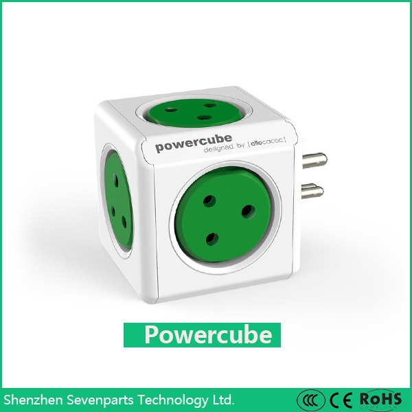 Worldwide travel India plug Adaptor with surge protector