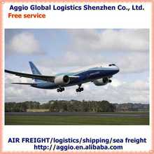 aggio air cargo freight for gold chain artificial jewelry