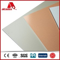 aluminium composite panel, modern light weight wall cladding