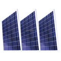 Multicrystalline Solar Panels 305 Watt/poly solar panel/solar plate/solar power panel Anti - Aging EVA Dark Blue Frame