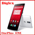 OnePlus One Quad Core Qualcomm Snapdragon 801 Android 4.4 4G FDD LTE Mobile Phone 5.5 inch 3G RAM 16GB ROM 13MP 4G Cell Phone