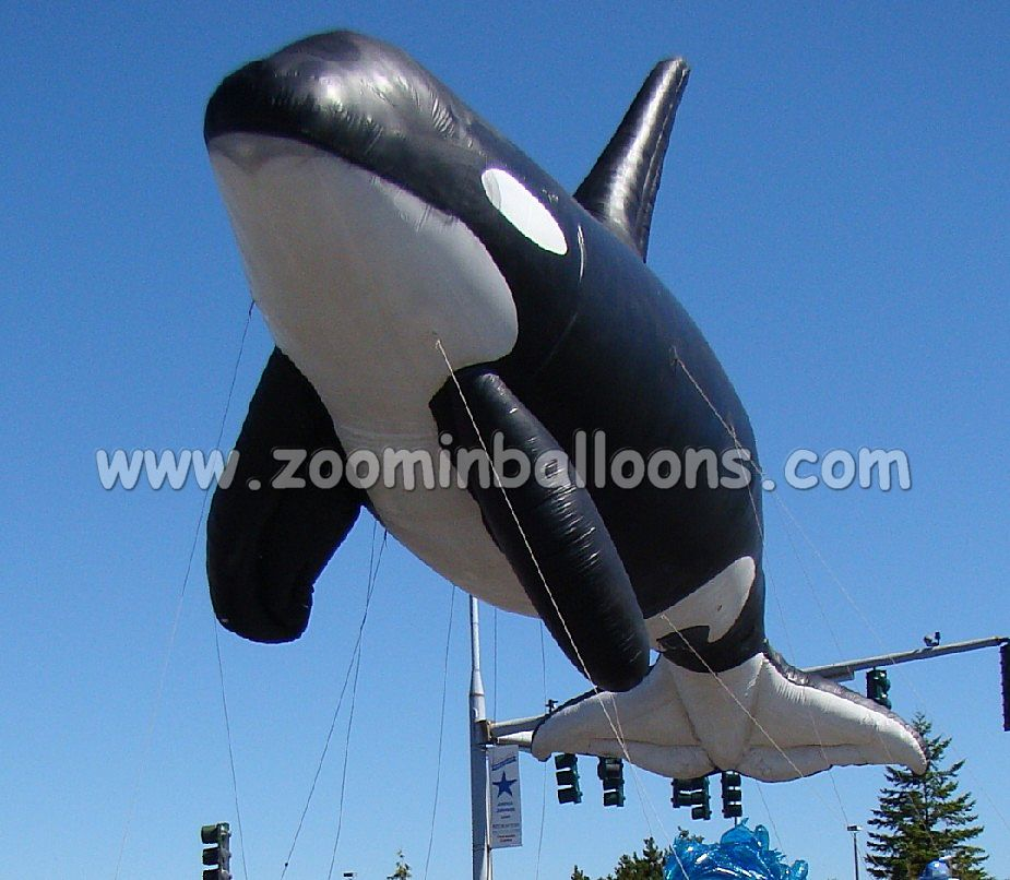 <strong>inflatable</strong> flying shark advertising helium balloon N1004