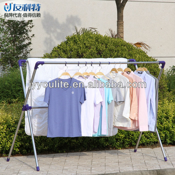 stainless steel laundry hanger