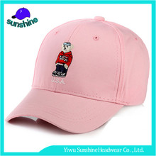 Korean style cartoon embroidery hats childrens brief usa baseball cap for sale