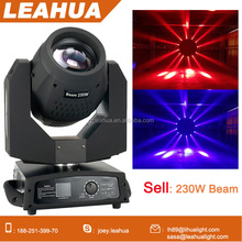 wholesale stage lighting 230w sharpy 7r beam moving head lights