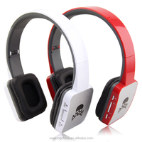 Fashionable design headband wireless earplug headphones, noise cancelling wireless headphone player mp3