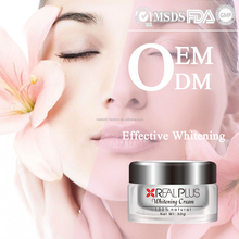Top Selling Chinese Private Brand Herbal Cosmetics Expert Face Whitening Fairness Cream