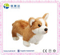 Plush Lifelike Cute Corgi Soft Dog Toy