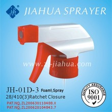 Plastic cleaning foam sprayer, foam trigger sprayer, JH-01D-3, for car and kitchen cleaning