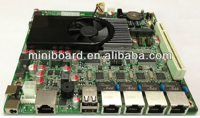 Firewall motherboard for 4 Intel Lan