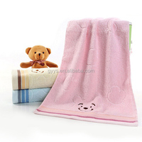wholesale thick face towel cheap England style towels cute bear cotton hotel towel