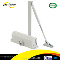 S214 heavy duty spring loaded door closer
