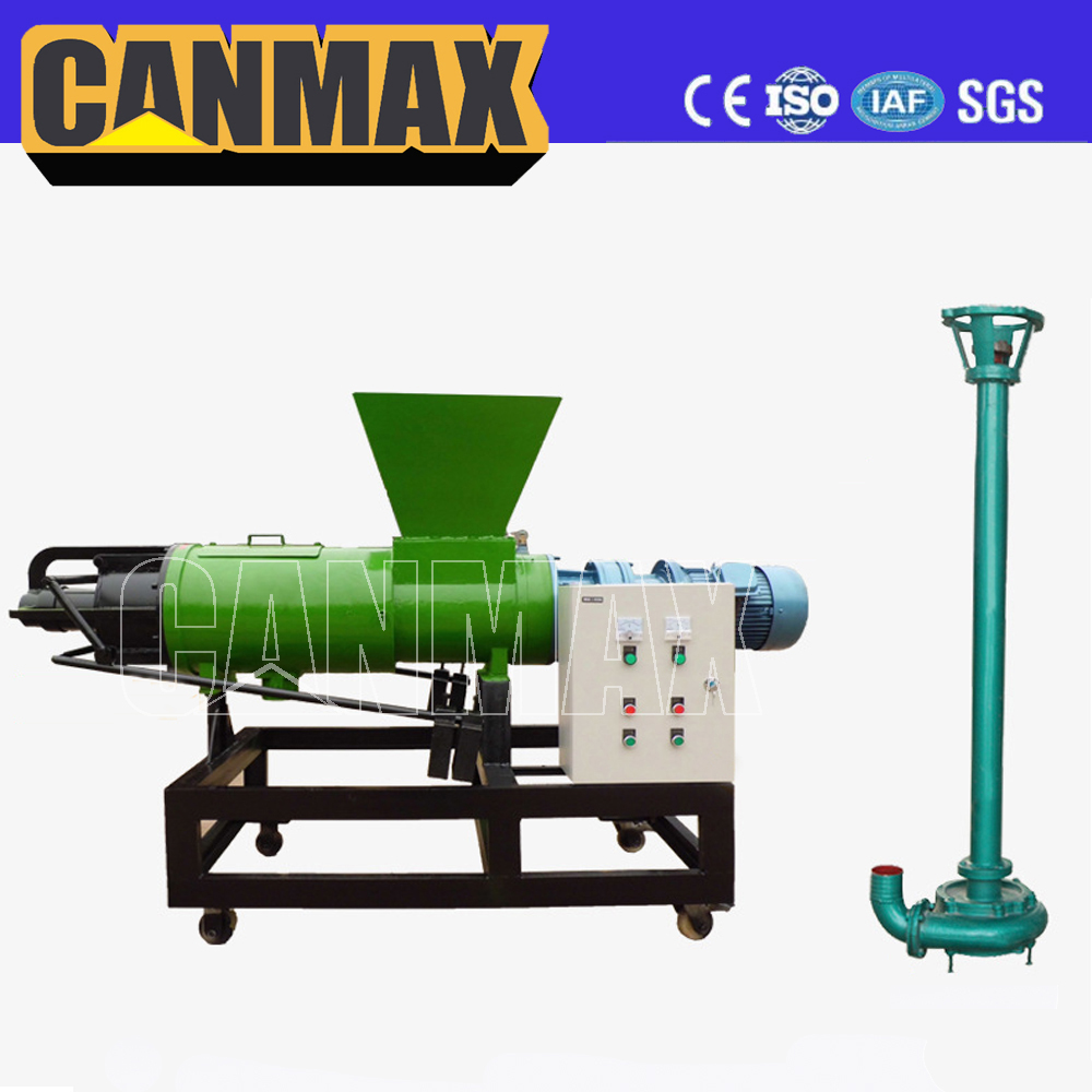 Multi-purpose dewatering machine dung cleaning machine on sale