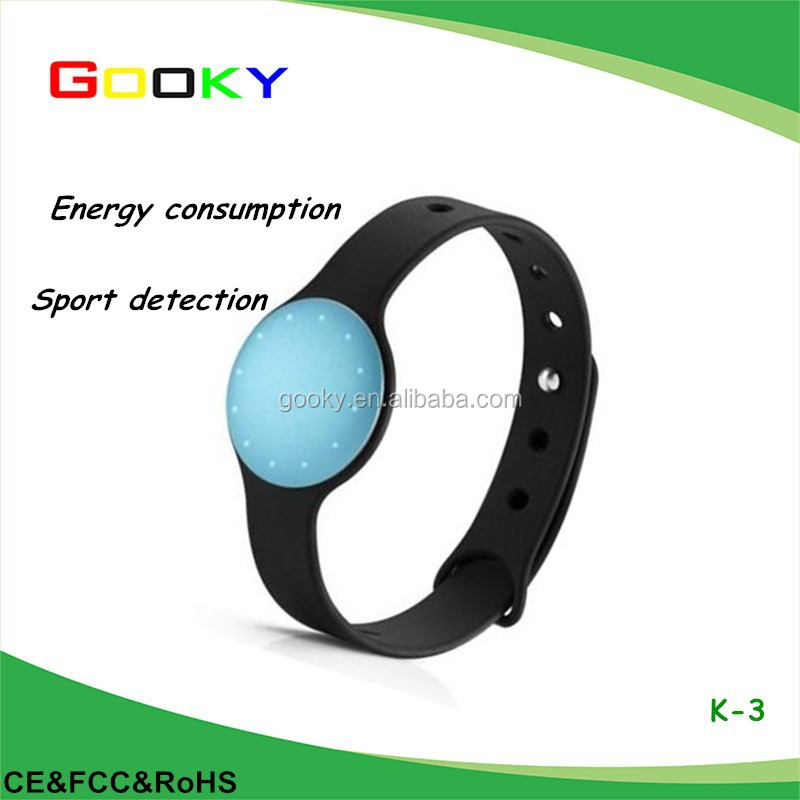 2015 factory wholesale pedometer bluetooth waterproof led bracelet watch for men and women
