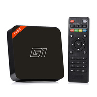 2016 G1 new product iptv box satellite receiver Amlogic s805 android tv box