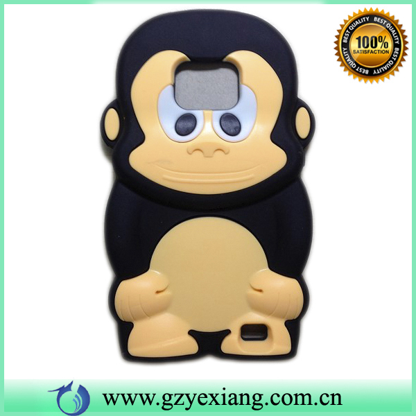 Cute animal shape silicon case for blackberry curve 9220 9320