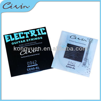 High quality guitar string manufacturer