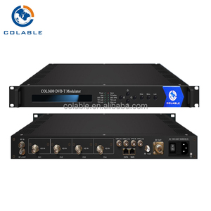 wireless tv network DVB-T Modulator cofdm, dvb-t to rf modulator