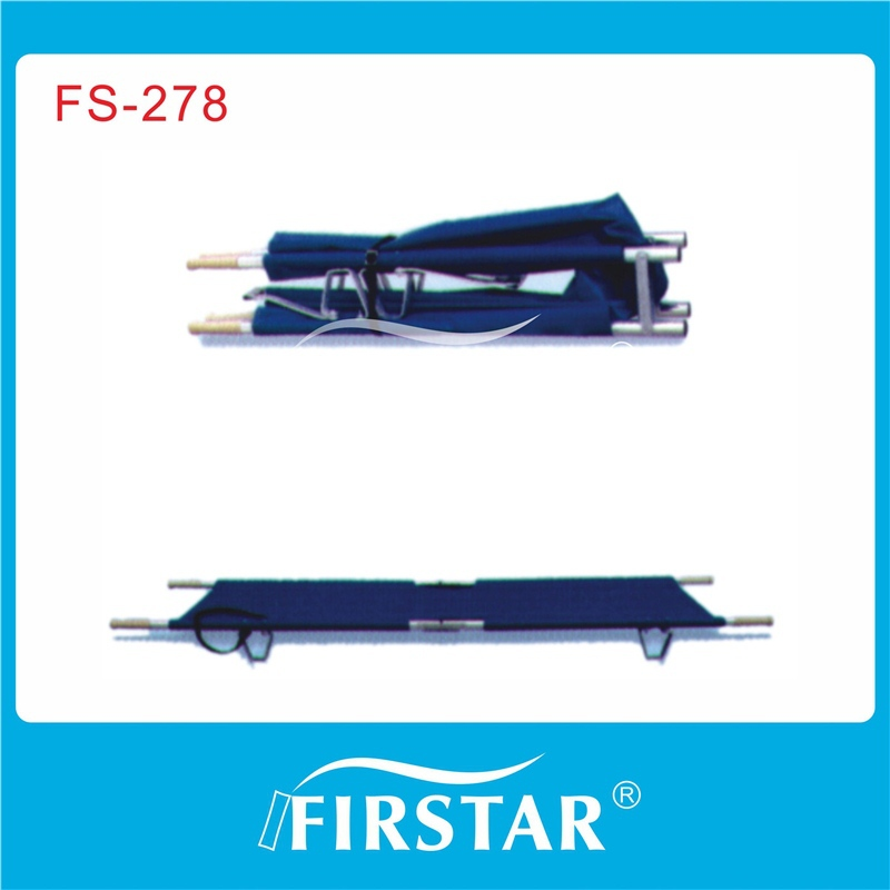 aluminium alloy foldable stretcher car for ambulance car with good quality