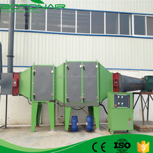 Industrial Oil Smoke Collector for fabric treater frame
