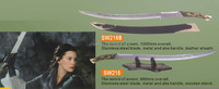 SW218, SW218B lord of the rings swords