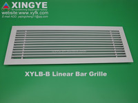 HVAC fixed type aluminium linear slot diffuser air grill HVAC Supply and Return Air Linear Bar Grille