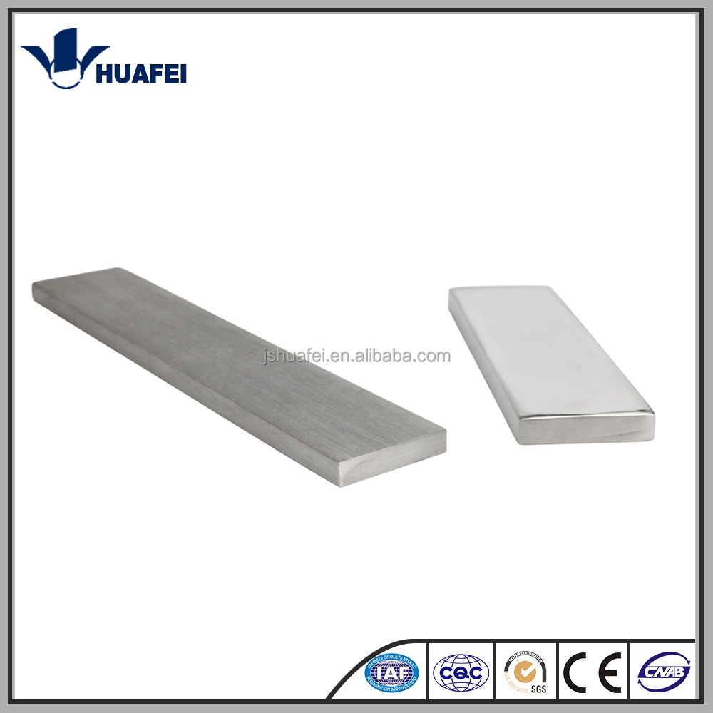 304 316 310 420 430 hot rolled bright stainless steel flat bar price