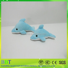Hot selling promotional gift, cheap small plush toys dolphin, birthday gift factory soft toys