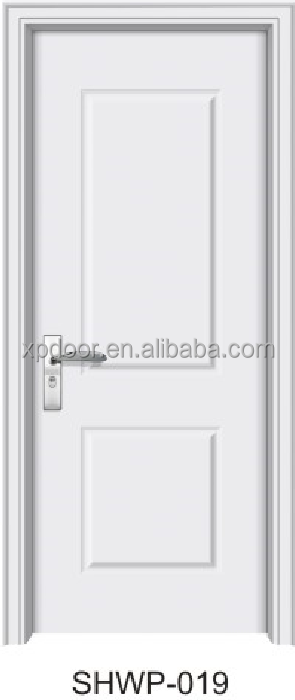 Cheap Wood Plastic Componsed WPC Door Design