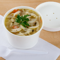 Buy Disposable PP Coated Paper Soup Bowl in China on Alibaba.com
