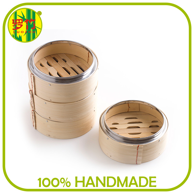 Download Trade Manager Household Rice Cooking Bamboo Steamer Set