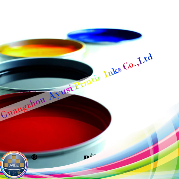 SGS eco-friendly high gloss quick-set CMYK process sheetfed offset ink