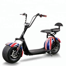 1000w 1500w 60v Lithium Battery Citycoco/seev/woqu Front Back Suspension Fat Tire Electric Scooter/cheap E-scooter