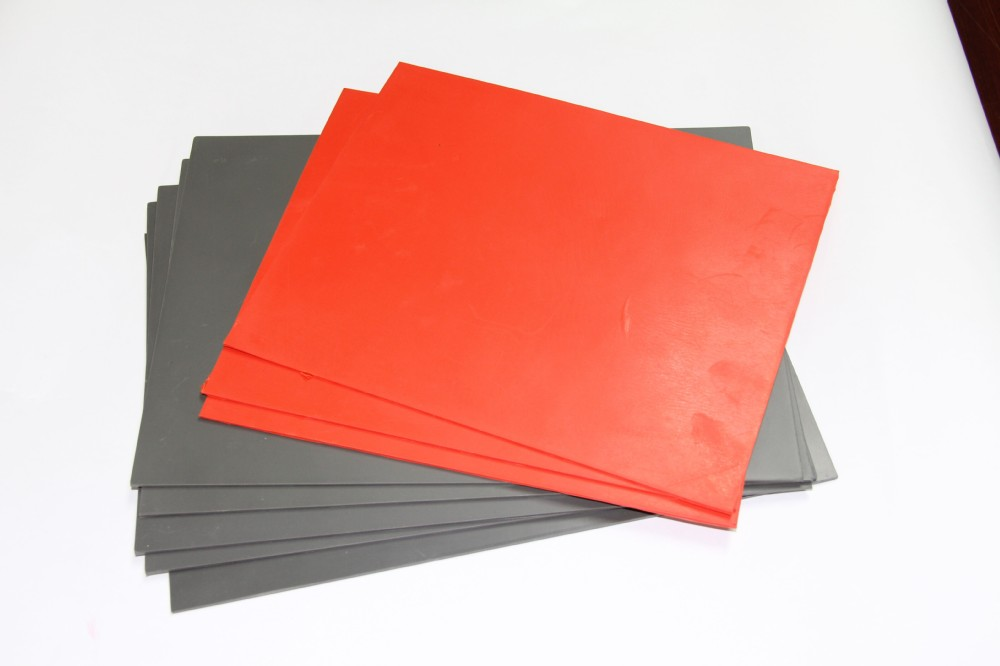 Environmental high quality odorless laser engraving rubber sheet, natural rubber sheet, rubber sheets for sale