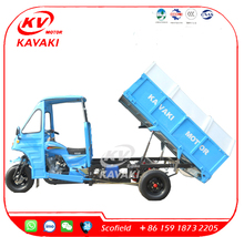 KAVAKI Tipper 250cc Motor Tricycle Cargo Tricycle With Cabin For Sanitation Tricycle