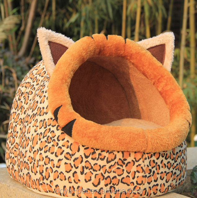 Teddy cat nest egg-shaped pet supplies, dog bed pet nest leopard cat house and dog bed